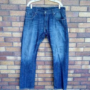 Levi's 514 Slim Straight Leg Jeans Size 36 X 34
